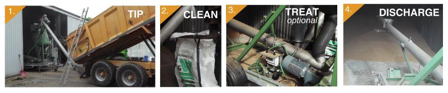 Mobile Grain Clean